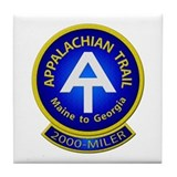 Appalachian Trail 2000-MILER Tile Coaster