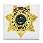 Knox County Sheriff Tile Coaster