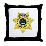 Knox County Sheriff Throw Pillow