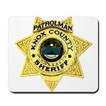 Knox County Sheriff Mousepad