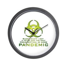 More Pandemic Wall Clock