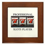 Slots Professional Framed Tile