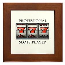 Slots Professional Framed Tile