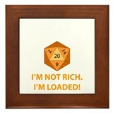 Loaded D20 Framed Tile