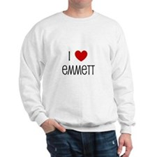 I Love Emmett Sweatshirt