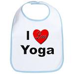 I Love Yoga Bib