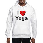 I Love Yoga Hooded Sweatshirt