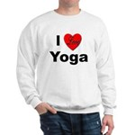 I Love Yoga (Front) Sweatshirt