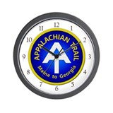 Appalachian Trail Patch Wall Clock