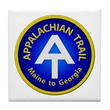 Appalachian Trail Patch Tile Coaster