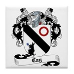 Cay Family Crest Tile Coaster