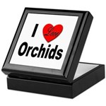 I Love Orchids Keepsake Box