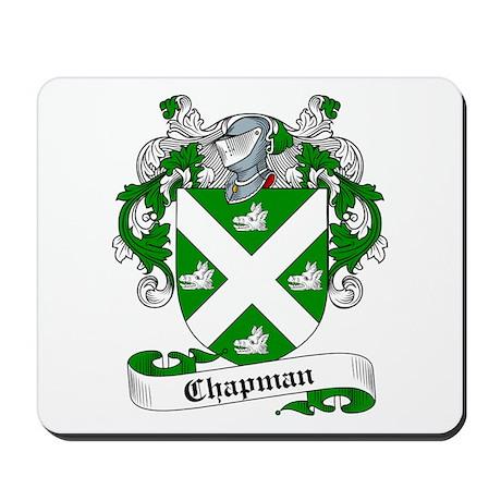Chapman Family Crest Mousepad