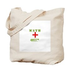Math 4077th Tote Bag
