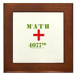Math 4077th Framed Tile