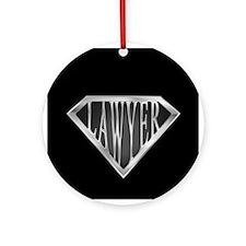 SuperLawyer(metal) Ornament (Round)