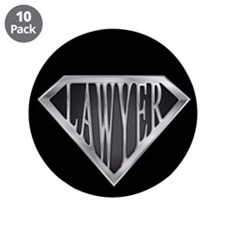 "SuperLawyer(metal) 3.5"" Button (10 pack)"