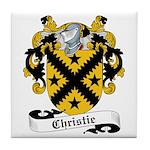 Christie Family Crest Tile Coaster