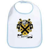 Christie Family Crest Bib