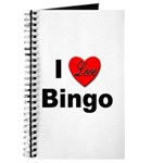 I Love Bingo Journal