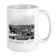 Large Brisbane Photo Mug
