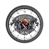 Wrestling My Sport Wall Clock