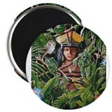 """TAINO PRINCESS"" 2.25"" Magnet (100 pack)"