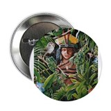 """TAINO PRINCESS"" 2.25"" Button"