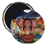 """TAINO PAST AND PRESENT"" Magnet"