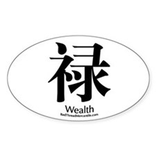 Wealth Oval Decal