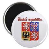 "Czech Republic Coat of arms 2.25"" Magnet (10 pack)"