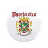 "Puerto Rican Coat of arms 3.5"" Button"
