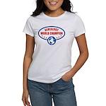 Genealogy World Champion Women's T-Shirt