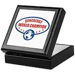 Genealogy World Champion Keepsake Box