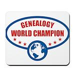 Genealogy World Champion Mousepad
