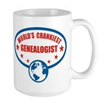 Worlds Crankiest Genealogist Large Mug