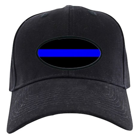 The Thin Blue Line Black Cap