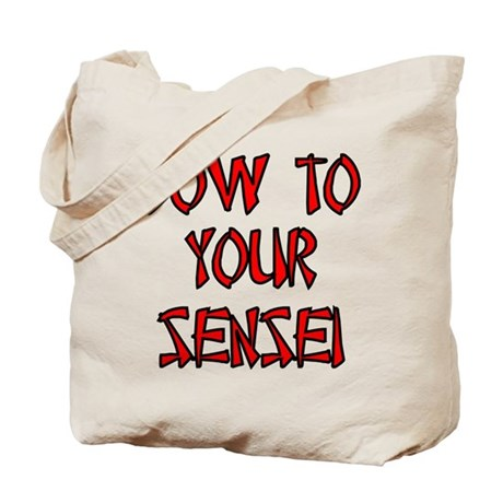 Bow To Your Sensei Tote Bag