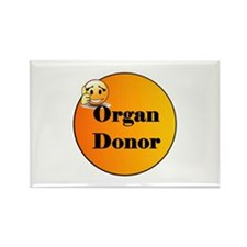 Organ Donor Rectangle Magnet (100 pack)