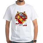 Cook Family Crest White T-Shirt