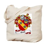 Cook Family Crest Tote Bag