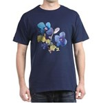 Watercolor Flowers Dark T-Shirt