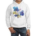 Watercolor Flowers Hooded Sweatshirt