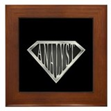 SuperAnalyst(metal) Framed Tile