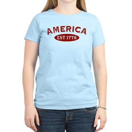 America Est 1776 Women's Light T-Shirt