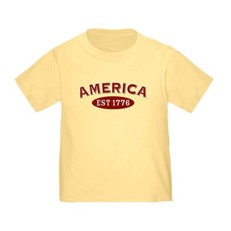 America Est 1776 Toddler T-Shirt