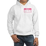 My Name Is Aunt To Be (Pink) Jumper Hoody