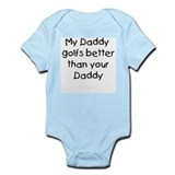 My daddy golfs Infant Bodysuit