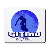 Gitmo Surf Club Mousepad
