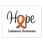 Hope For Leukemia Small Poster